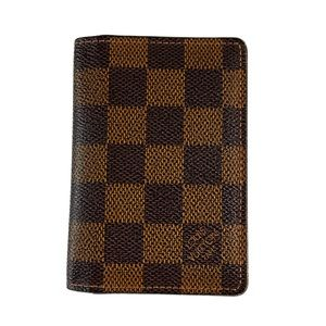 Louis Vuitton Damier Ebene Pocket Organizer Wallet